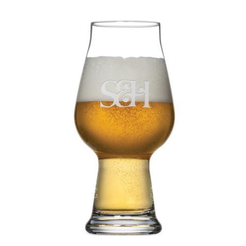 Aragon IPA Glass - Deep Etch 18oz