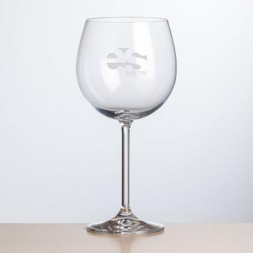 Woodbridge Burgundy Wine - Deep Etch 19oz