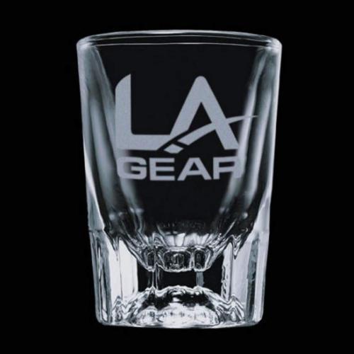 Seville Shot Glass - Deep Etch 2oz