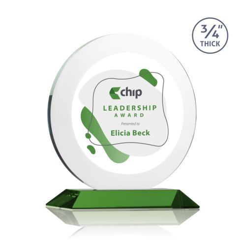 Gibralter VividPrint™ Award - Green