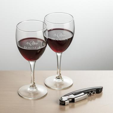 Carberry Wine  & Opener Giftset