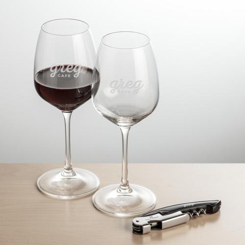 Oldham Wine & Opener Giftset