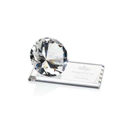Gemstone Award on Starfire - Diamond