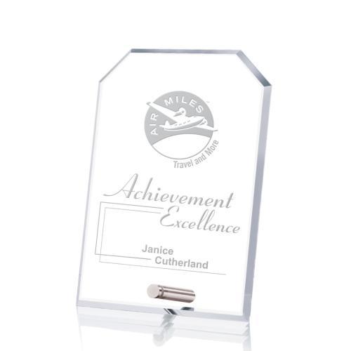 Cantebury Clipped Rectangle Award - Deep Etch