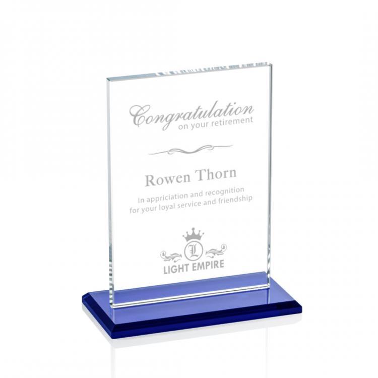 Algoma Vertical Award - Blue