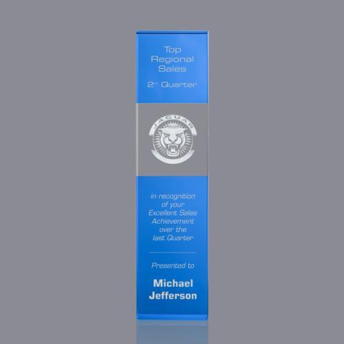 Araceli 3D Tower Award - Sky Blue