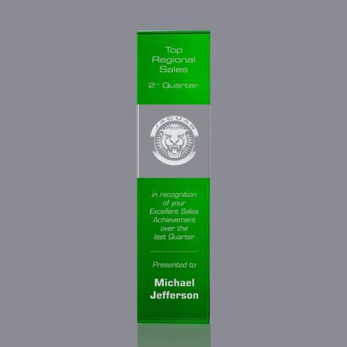 Araceli 3D Tower Award - Green