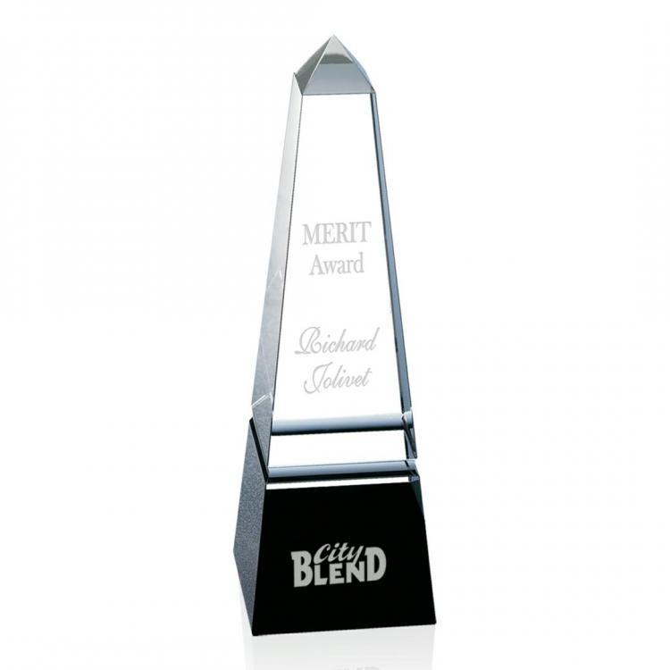 Groove Obelisk Award - Black