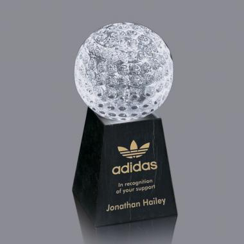 Sports Balls Award on Marble