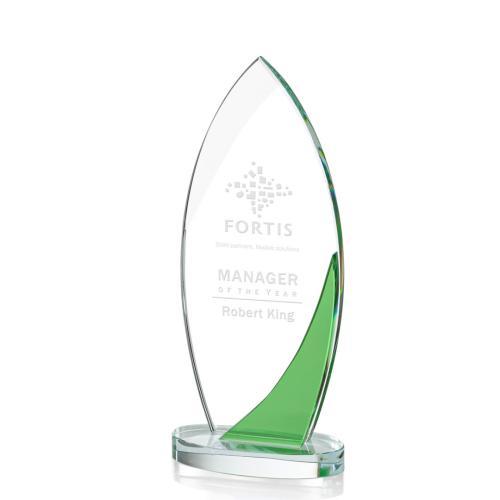 Harrah Award - Green