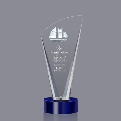 Brampton 3D Award - Blue