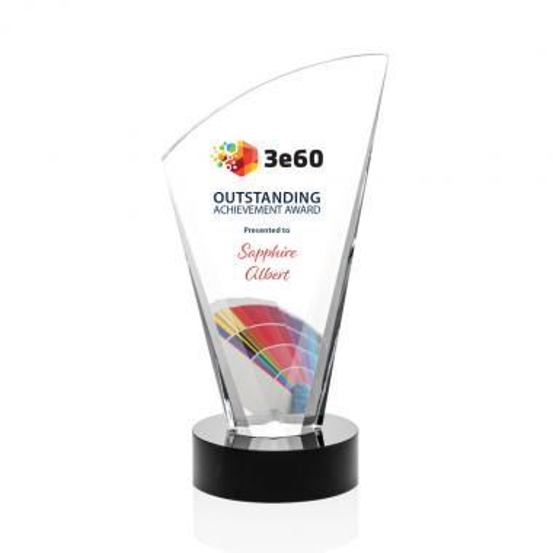Brampton Award - Black/VividPrint™