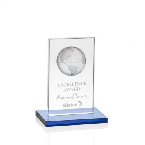 Brannigan Globe Award - Sky Blue