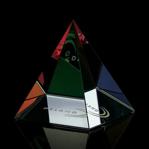 Colored Pyramid Award