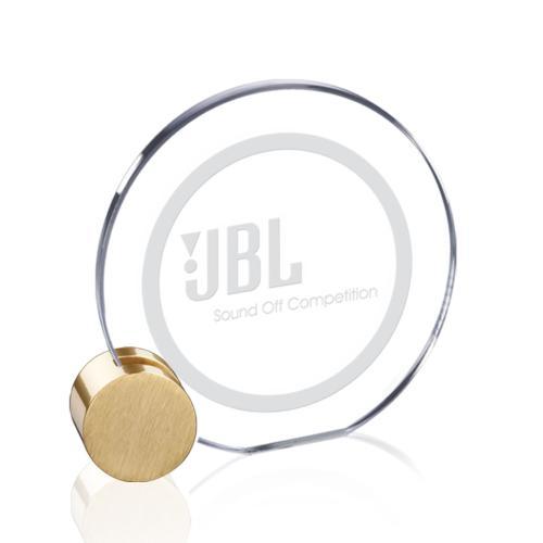 Verdunn Award - Starfire/Gold Circle