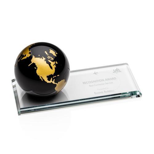 Fairfield Globe Award - Black