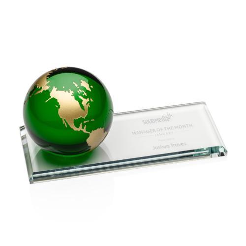 Fairfield Globe Award - Green