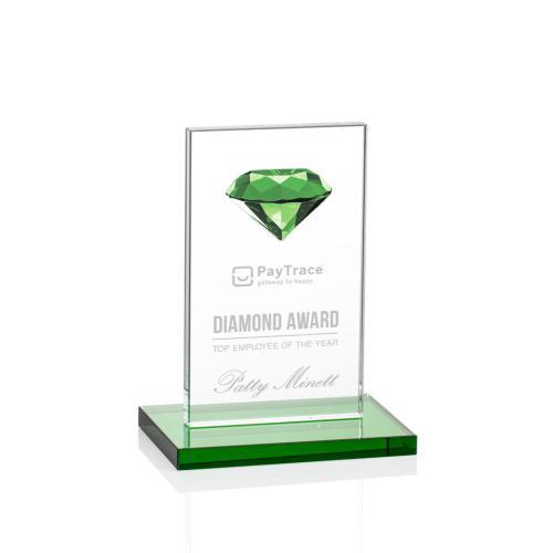 Bayview Gemstone Award - Emerald