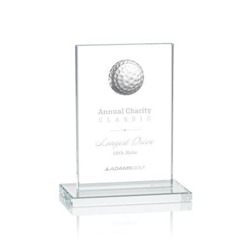 Cumberland Golf Award - Clear