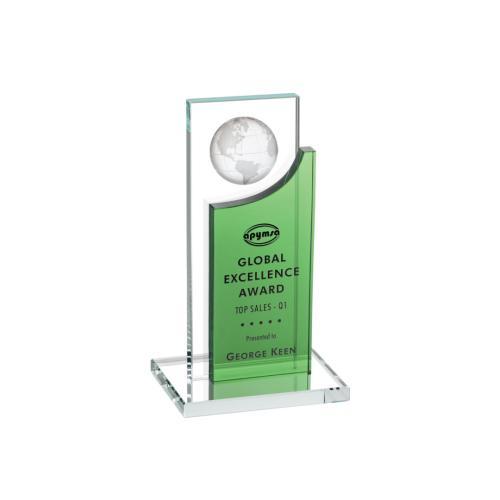 Sherwood Globe Award - Green