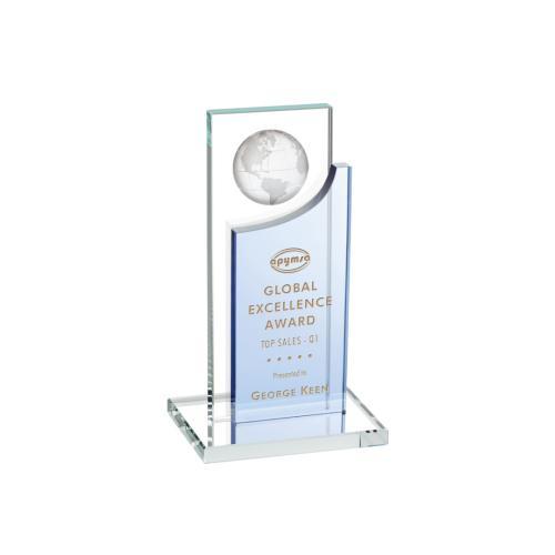 Sherwood Globe Award - Sky Blue