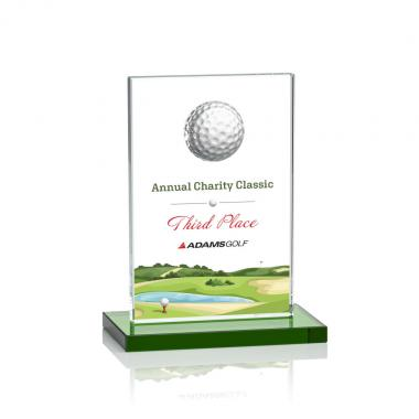 Cumberland VividPrint™ Golf Award - Green