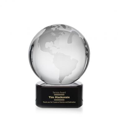 Globe Award on Paragon Black
