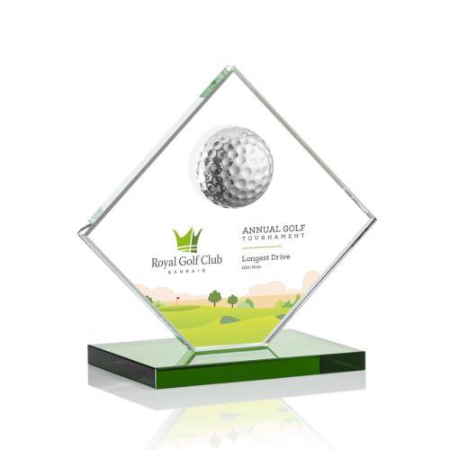 Barrick VividPrint™ Golf Award - Green