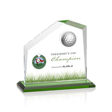 Andover VividPrint™ Golf Award - Green