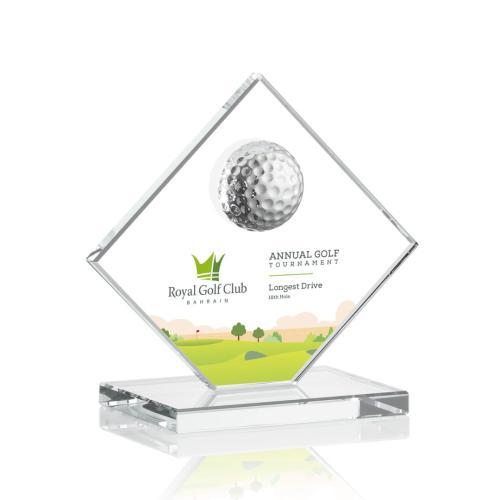 Barrick VividPrint™ Golf Award - Clear