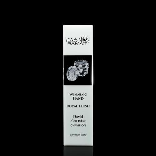 Araceli 3D Tower Award - White