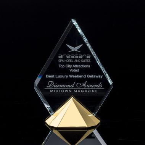 Celestial Award - Starfire/Gold