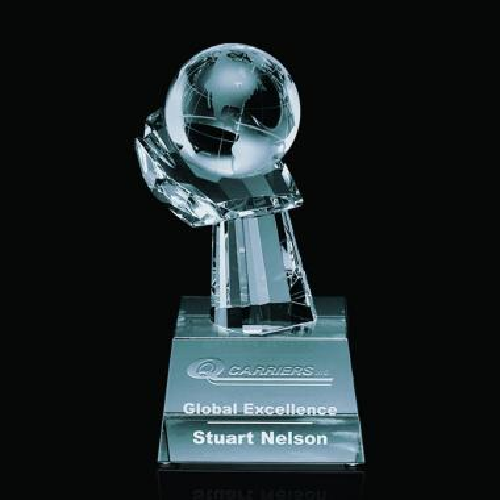 Globe on Hand Award