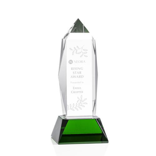 Bloomington Award on Base - Green