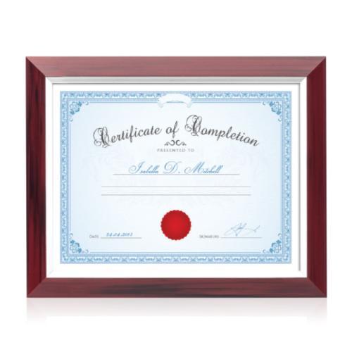 Buland Certificate Frame