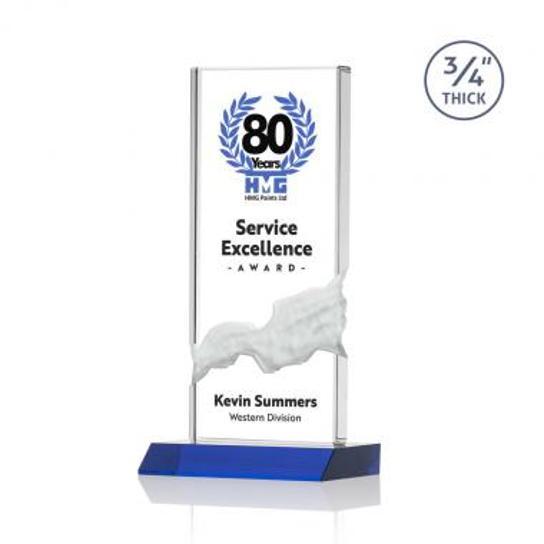 Poole VividPrint™ Award - Blue