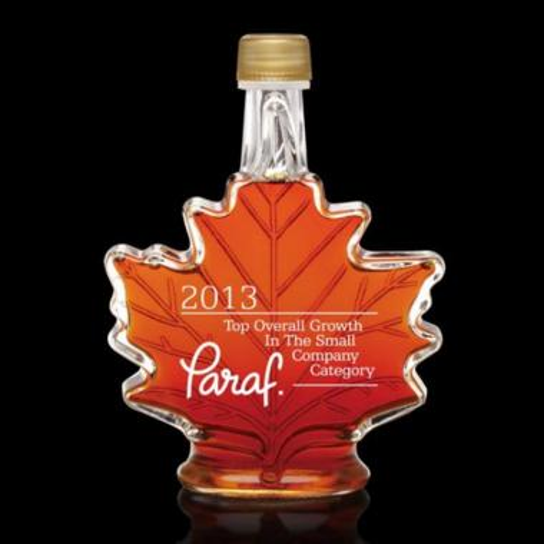Maple Syrup - Maple Leaf - Deep Etch