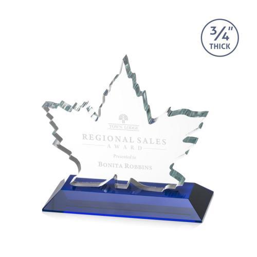 Maple Leaf Award - Blue