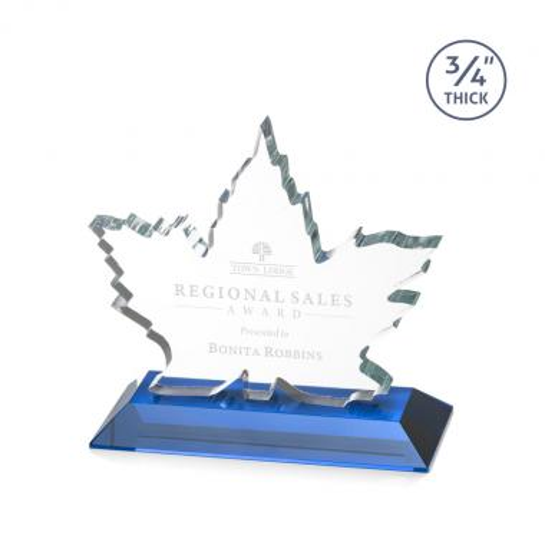 Maple Leaf Award - Sky Blue