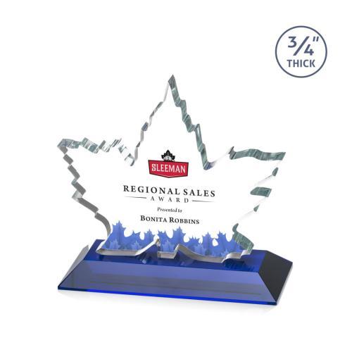 Maple Leaf VividPrint™ Award - Blue