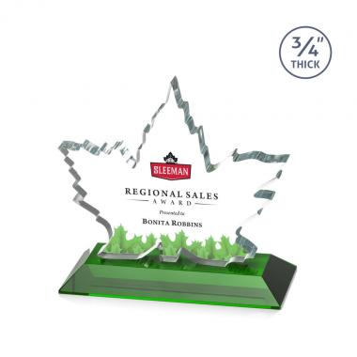 Maple Leaf VividPrint™ Award - Green