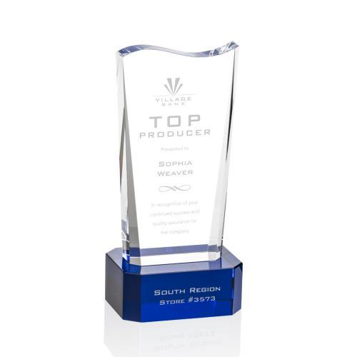 Violetta Award on Base - Blue