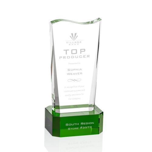 Violetta Award on Base - Green