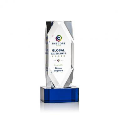 Delta VividPrint™ Award on Base - Blue