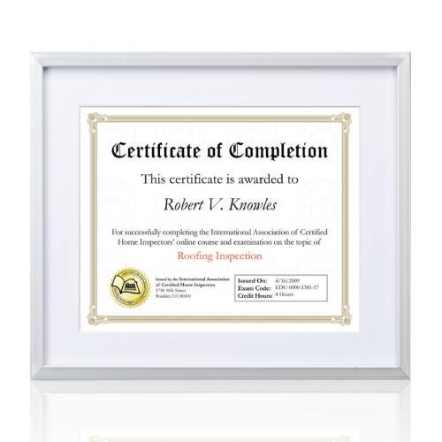 Burnell Certificate Frame