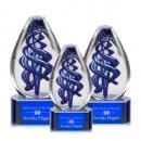 Expedia Award- Blue Base Alternative View