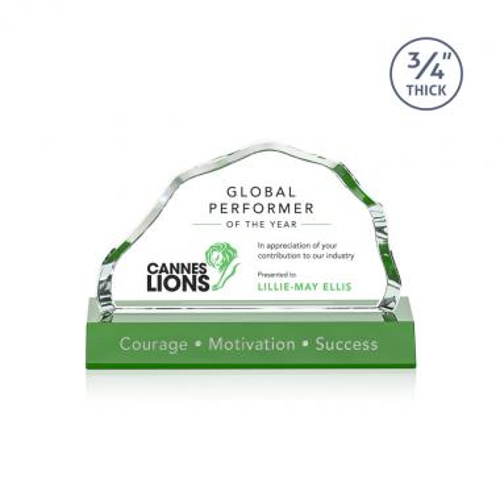 Highbridge VividPrint™ Award - Green