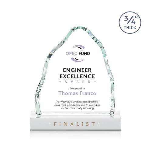 Dunwich VividPrint™ Award - White