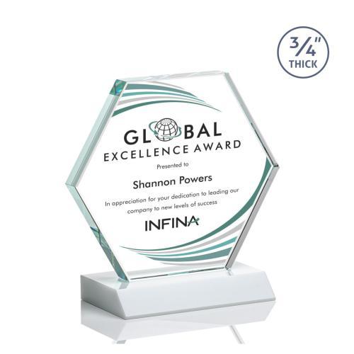 Pickering VividPrint™ Award - White
