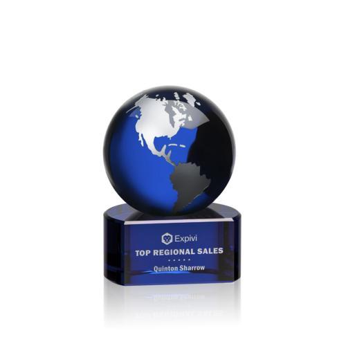 Marcana Globe Award - Blue